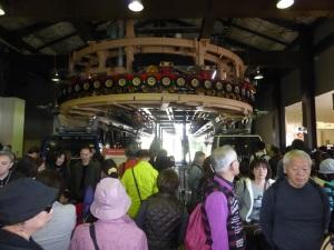 558. Hakone. Teleférico al valle de la Gran Ebullición