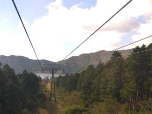 563. Hakone. Teleférico al valle de la Gran Ebullición