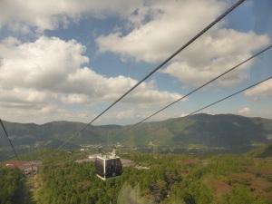 567. Hakone. Teleférico al valle de la Gran Ebullición
