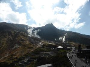 572. Hakone. Valle de la Gran Ebullición