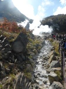 579. Hakone. Valle de la Gran Ebullición