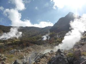 584. Hakone. Valle de la Gran Ebullición