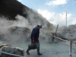 594. Hakone. Valle de la Gran Ebullición