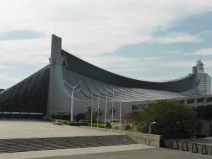 646. Tokio. Estadio Olímpico de Tange Kenzo