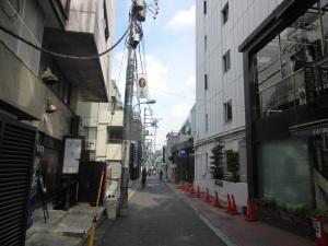 658. Tokio. Callejón junto a Omotesando