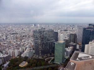 727. Tokio desde la torre del Gobierno Metropolitano