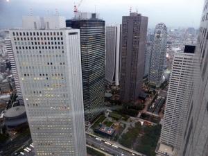 731. Tokio desde la torre del Gobierno Metropolitano