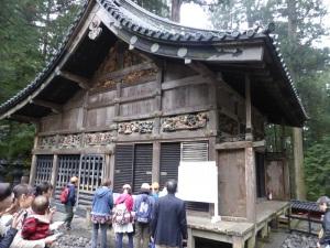 787. Nikko. Santuario Toshogu. Establo