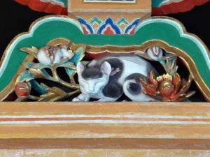 816. Nikko. Santuario Toshogu. Relieve atribuido a Hidari el Zurdo