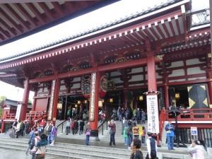 898. Tokio. Templo Asakusa Kannon