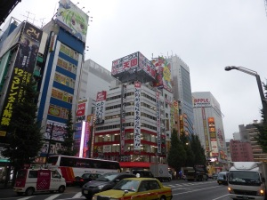 925. Tokio. Distrito Akiharaba