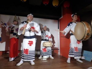958. Tokio. Cena-espectáculo
