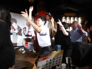 996. Tokio. Cena-espectáculo