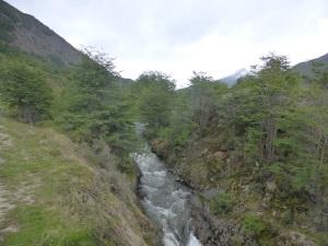 1037. Ushuaia. hacia el tren