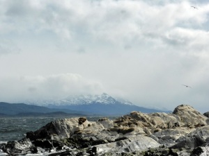 1198. Ushuaia. Navegación por el canal de Beagle