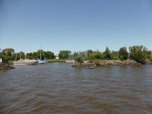 152. Navegación por el Río de la Plata y afluentes hasta Tigre