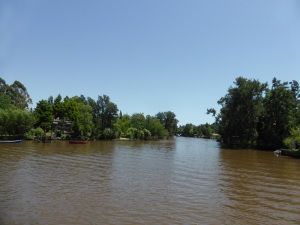 177. Navegación por el Río de la Plata y afluentes hasta Tigre