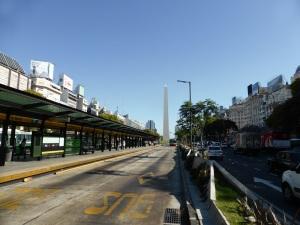 205. Buenos Aires. Avda. Nueve de julio