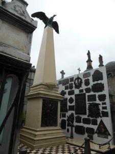 345. Buenos Aires. Cementerio de La Recoleta