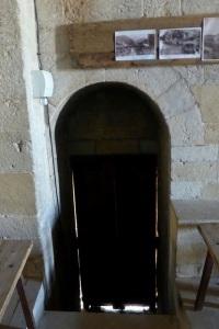 Puerta sur. Interior