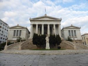 002. Atenas. Biblioteca Nacional