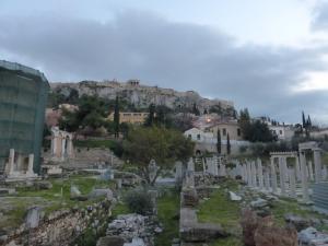 043. Atenas. Foro romano