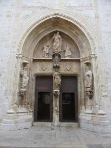 05. Gandía. Colegiata. Puerta de los Apóstoles