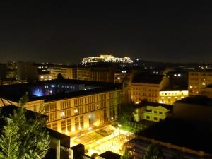 051. Atenas. La Acrópolis desde el hotel