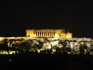 053. Atenas. Acrópolis desde el hotel