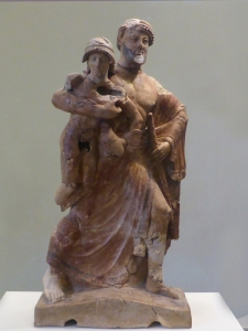 199. Olimpia. Museo. Zeus raptando a Ganímedes. 480-470 BC