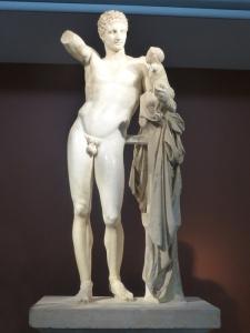 214. Olimpia. Museo. Hermes de Praxíteles