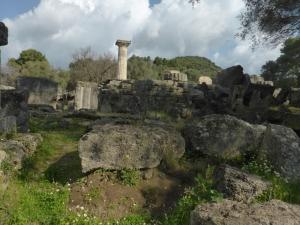240. Olimpia. Templo de Zeus