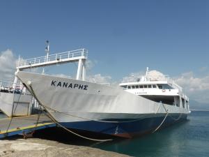 283. Ferry para cruzar el estrecho de Lepanto