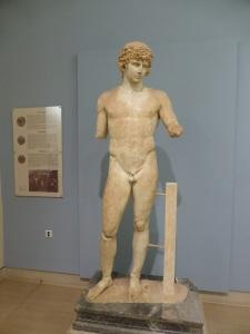 344. Delfos. Museo. Antinoo. De entre 130 y 138