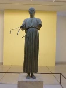 347. Delfos. Museo. Auriga