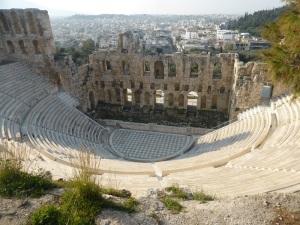 468. Atenas. Odeón de Herodes Ático