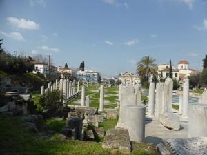 541. Atenas. Ágora romana