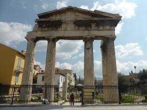544. Atenas. Ágora romana
