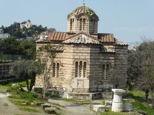 547. Atenas. Iglesia de los Santos Apóstoles