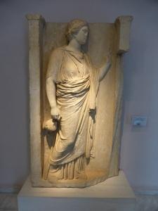 579. Atenas. El Keramikon. Museo