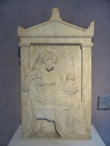 580. Atenas. El Keramikon. Museo