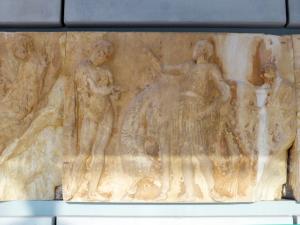 623. Atenas. Museo de la Acrópolis. Frisos y metopas del Partenón