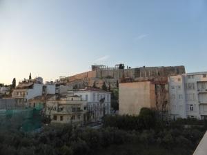 632. Atenas. La Acrópolis desde el Museo