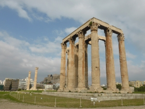 644. Atenas. Olimpeion