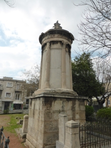662. Atenas. Linterna de Lisícrates