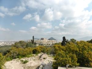 677. Atenas. Desde la colina de Filopapo