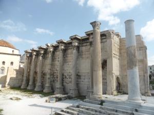 697. Atenas. Biblioteca de Adriano