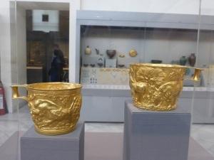 713. Atenas. Museo Arqueológico Nacional.  Vasos de Váfio, cerca de Esparta. Micenas