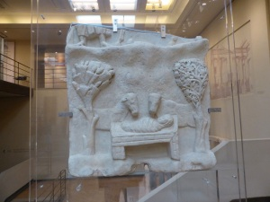 781. Atenas. Museo bizantino. Natividad. De Naxos. Siglos IV- V