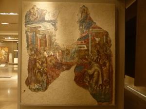 798. Atenas. Museo bizantino.  Monasterio Palalopanagia. 1305